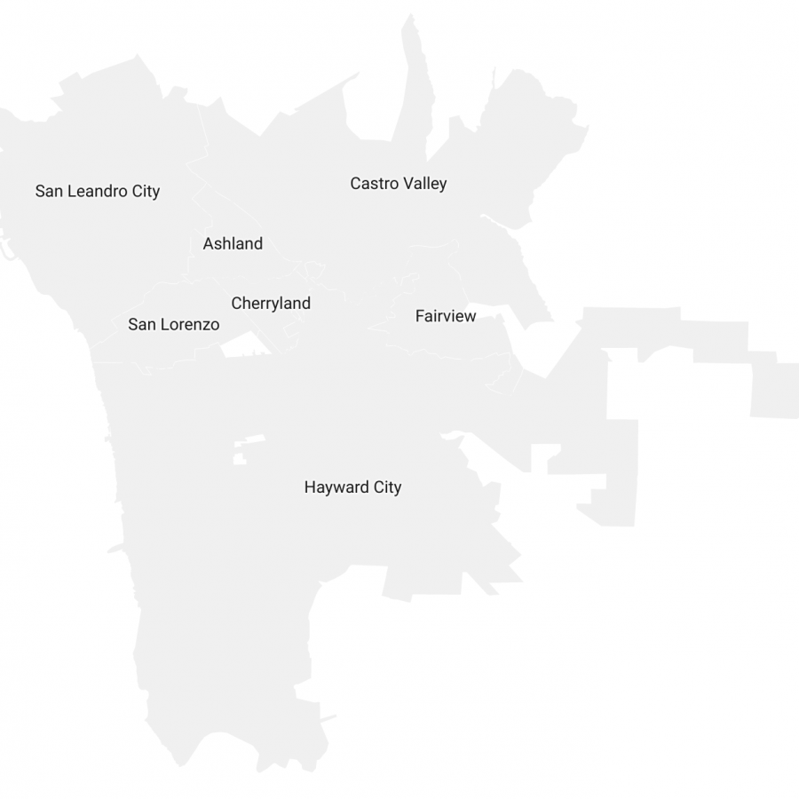 Unincorporated Alameda County